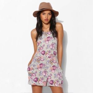 Pins And Needles Open Back Romper